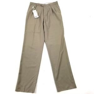 NWT Burberry Unhemmed Straight Leg Dress Pants 34